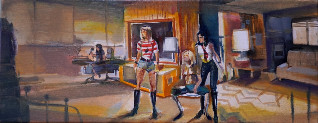 JonathanNotario_The  runaways advenures_o:lienzo.20x50cm.600€
